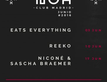 EATS EVERYTHING ESTRENA JUNIO EN NOX