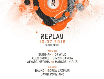 SUBB-AN, DJ W!LD Y ALEX SMOKE, APUESTAS DE REPLAY EN JULIO