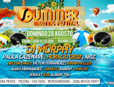 28AGO Summer Meeting Festival Domingo 28 de Agosto From 07:00h