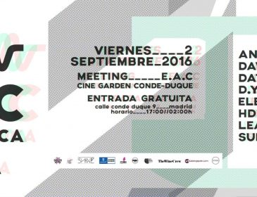 2SEP 2 Septiembre – EAC Meeting at Conde-Duque