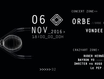 NOV6 06/11 Synth Club presents: Orbe / Vondee / Xcire