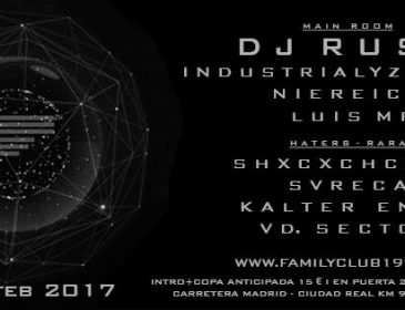 CONCURSO: 4 entradas FAMILY CLUB 11.01.17 Rush…