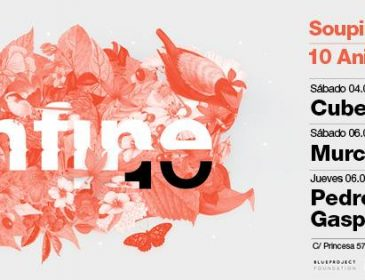 MAR4 InFiné 10 years in Blueproject Barcelona / Part I: Cubenx Live