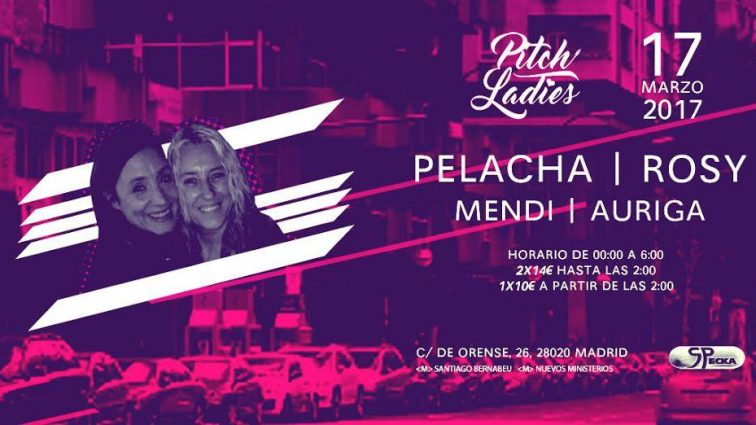 MAR17 Pitch Ladies@Specka