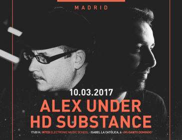 Audition llega a Madrid con Alex Under y HD Substance