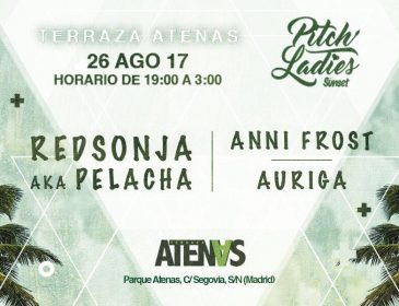 AGO26 Pitch Ladies@Terraza Atenas (Open Air)