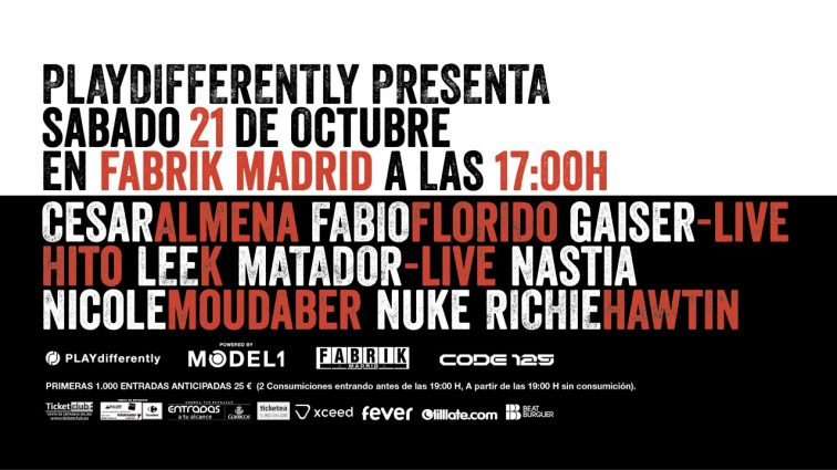 CODE.125 presenta playDIFFERENTLY by RICHIE HAWTIN at FABRIK