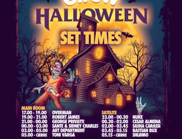CONCURSOS ELROW HALLOWEEN en FABRIK 28 Oct.