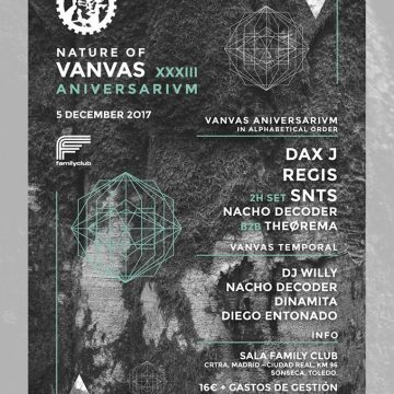 DIC5 33 Aniversario Vanvas en Family Club