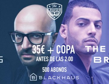NEVERDOGS y THE MARTINEZ BROTHERS nuevas citas de THE CRUISER en BLACKHAUS