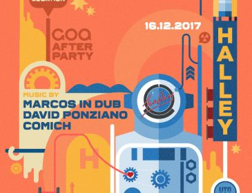 HALLEY se encargará de la AFTER PARTY de GOA en diciembre