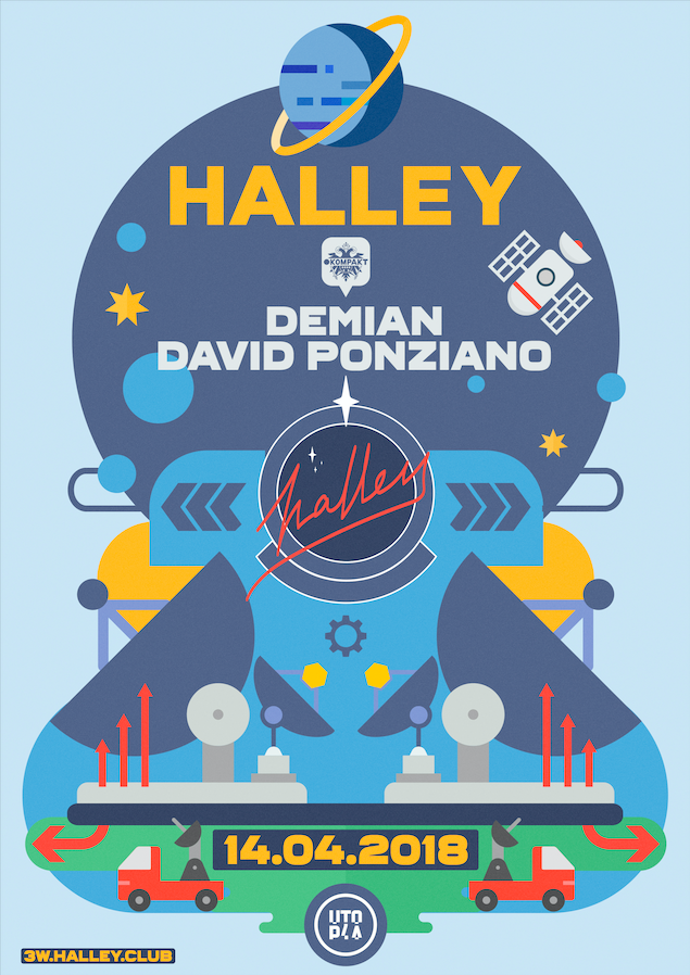 Halley demian