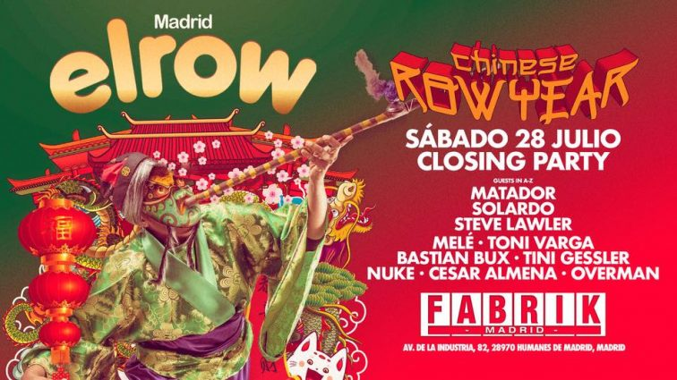 Concurso: ElRow Closing Fabrik 28.07.18