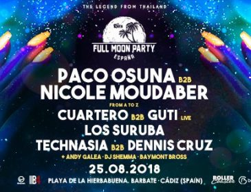 Concurso: 2 entradas dobles Full Moon Party España