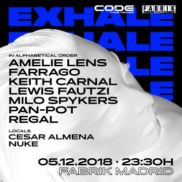 CODE presenta EXHALE by AMELIE LENS