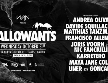 Concurso: 2 entradas HALLOWANTS 31.10.18 Madrid