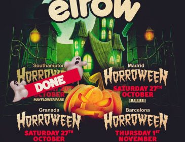 ElRow se triplica por Halloween con shows en Madrid, Granada y Barcelona.