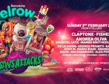 ¡Los aliens invaden elrow Barcelona!