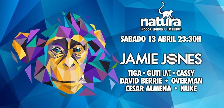 Jamie Jones @ Natura Indoor Edition Fabrik Madrid