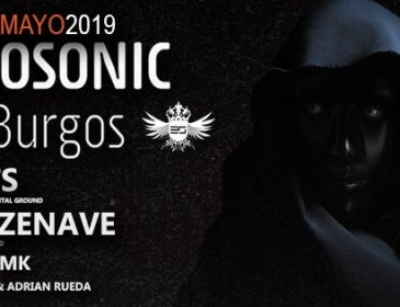Concurso: 2 entradas dobles Electrosonic Night@burgos 11.05.19