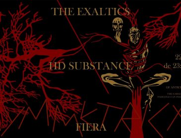 22/06 – Asymmetrical 8.0: Fiera (Live) / The Exaltics / HD Substance BCN