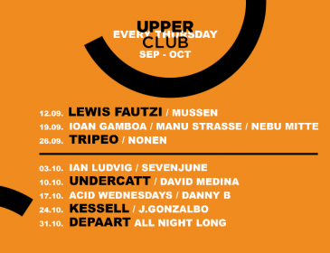 Upper Club inaugura su 4º temporada con un sold out y su programación hasta octubre
