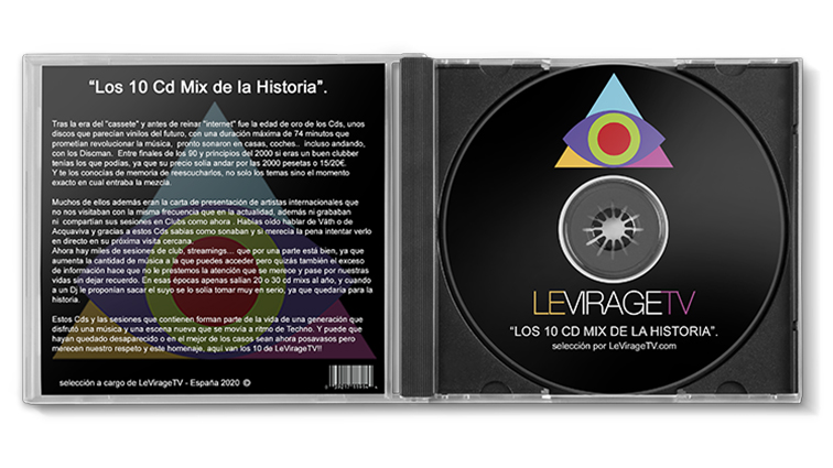 Los 10 Cd Mix de la Historia.