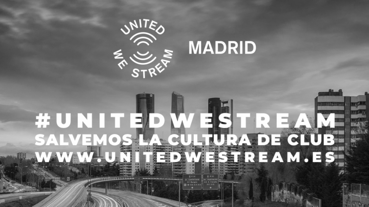 Se confirma la programación de julio de United We Stream Madrid