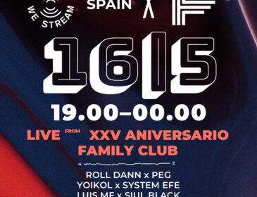 Family Club anuncia su XXV Aniversario junto a United We Stream Spain