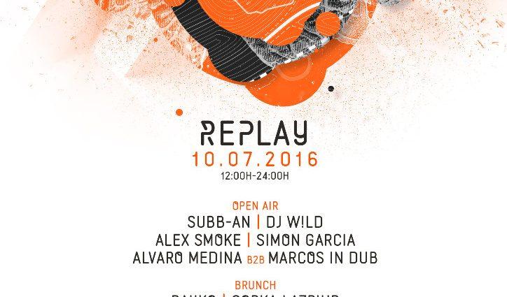 SUBB-AN, DJ W!LD Y ALEX SMOKE, APUESTAS DE REPLAY EN JULIO