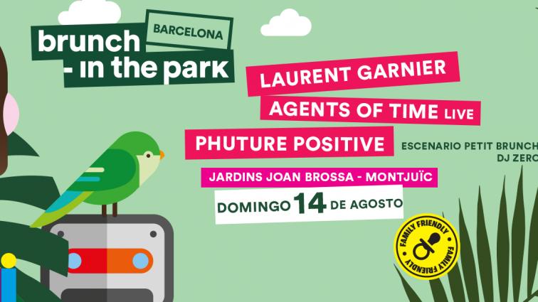 Laurent Garnier cierra el cartel de  Brunch -In the Park este verano