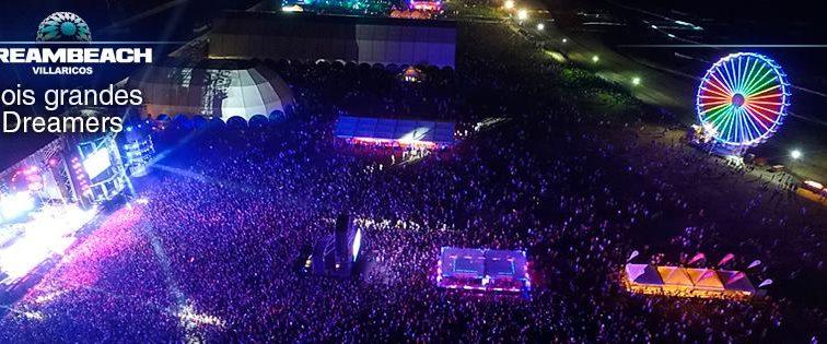 Dreambeach cierra su edición mas multitudinaria con 160.000 asistentes desde el jueves 11 hasta el domingo 14 de agosto