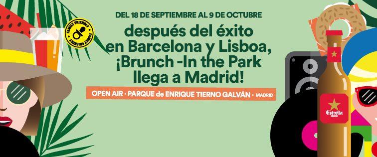 Brunch -In the Park llega a Madrid