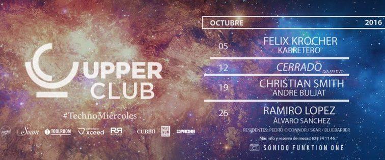 Upper Club presenta su nueva propuesta para los Miércoles