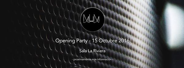 La Riviera presenta MUM Madrid el próximo 15 de octubre