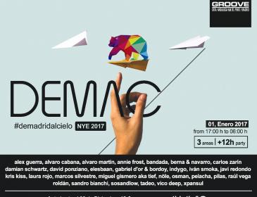 MADRID COMENZARÁ 2017 UN POCO MÁS CERCA DEL CIELO
