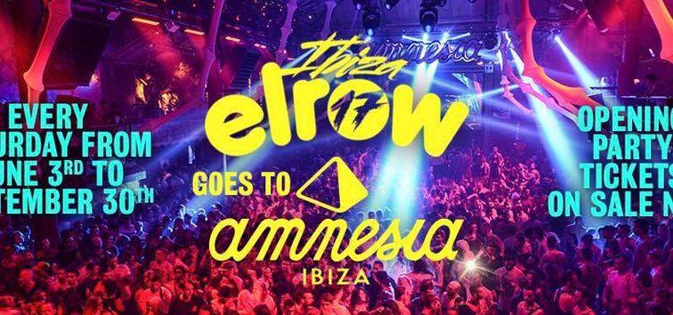 elrow desvela que Amnesia será su nueva residencia en Ibiza