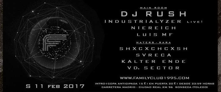 FEB11 11F – Vuelve el Techno a Family Club