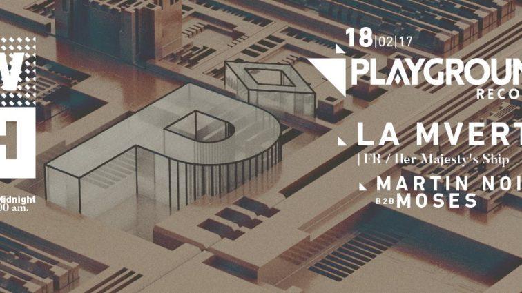 FEB18 The W-H presents: Playground Records showcase w/ La Mverte
