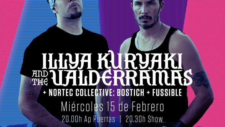 Nortec Collective: Bostich + Fussible se incorporan a los shows de Illya Kuryaki and the Valderramas en Madrid y Barcelona