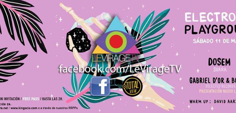 GABRIEL D'OR & BORDOY presentan el sábado nuevo  LIVE en Industrial Copera de Granada con «LeVirageTV Streamings»
