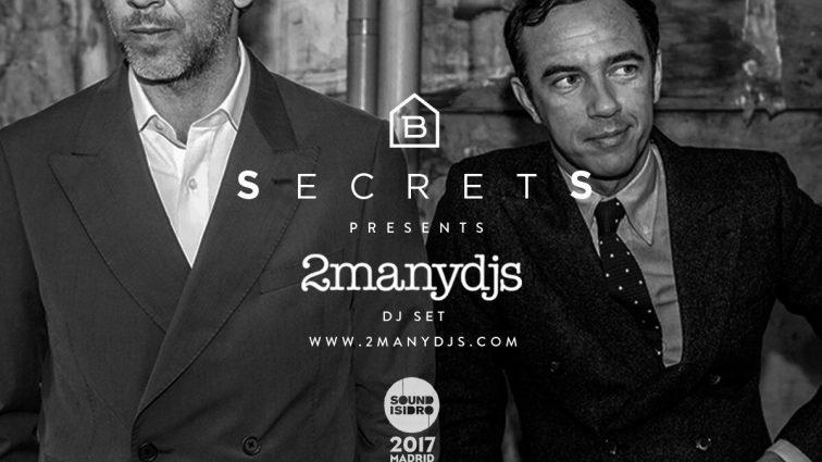 2ManyDjs protagonizarán una de las citas del festival madrileño Sound Isidro
