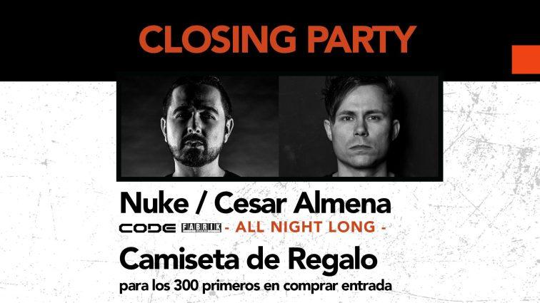 MAY12 EKHO Closing Party / Sala Arena