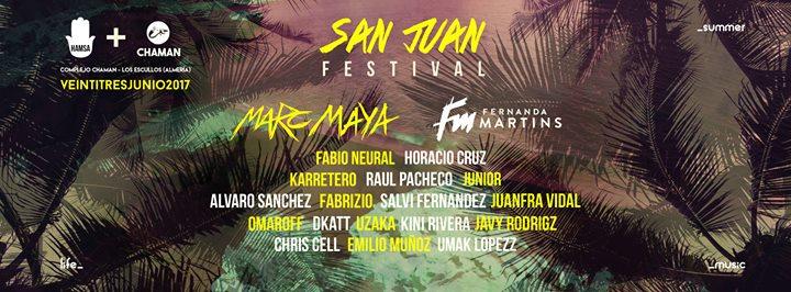 JUN23 San Juan Festival en Chaman – Complejo sobre el Mar