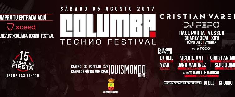 AG O5 Columba Techno Festival 2017