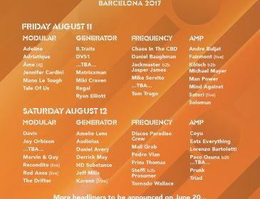 DGTL Barcelona ocupará nuevos espacios en el Parc del Fòrum y anuncia su programación por escenarios