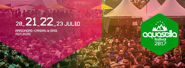 Festival Aquasella – Horarios Oficiales 2017