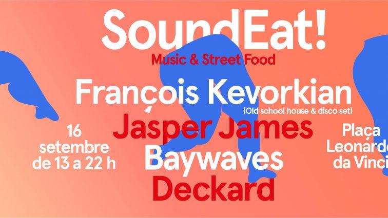 SoundEat del próximo 16 de septiembre con François Kevorkian y Jasper James
