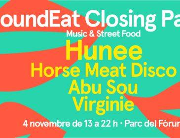 SoundEat celebra su décima y última edición de 2017 el 4 de noviembre con una gran Closing Party y un lineup estelar, encabezado por el reconocido digger Hunee y el espíritu festivo de Horse Meat Disco