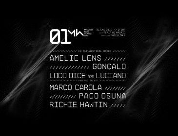 Los mejores artistas de la electrónica internacional pasarán por 01 New Year's Day